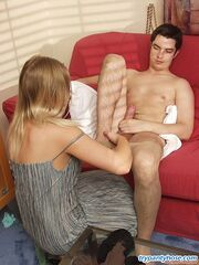 Flossie&Adam pantyhose mad couple